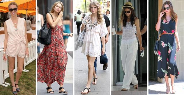Celeb summer style